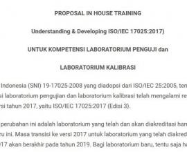 Contoh Proposal Pelatihan