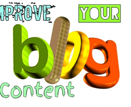 improve your blog content