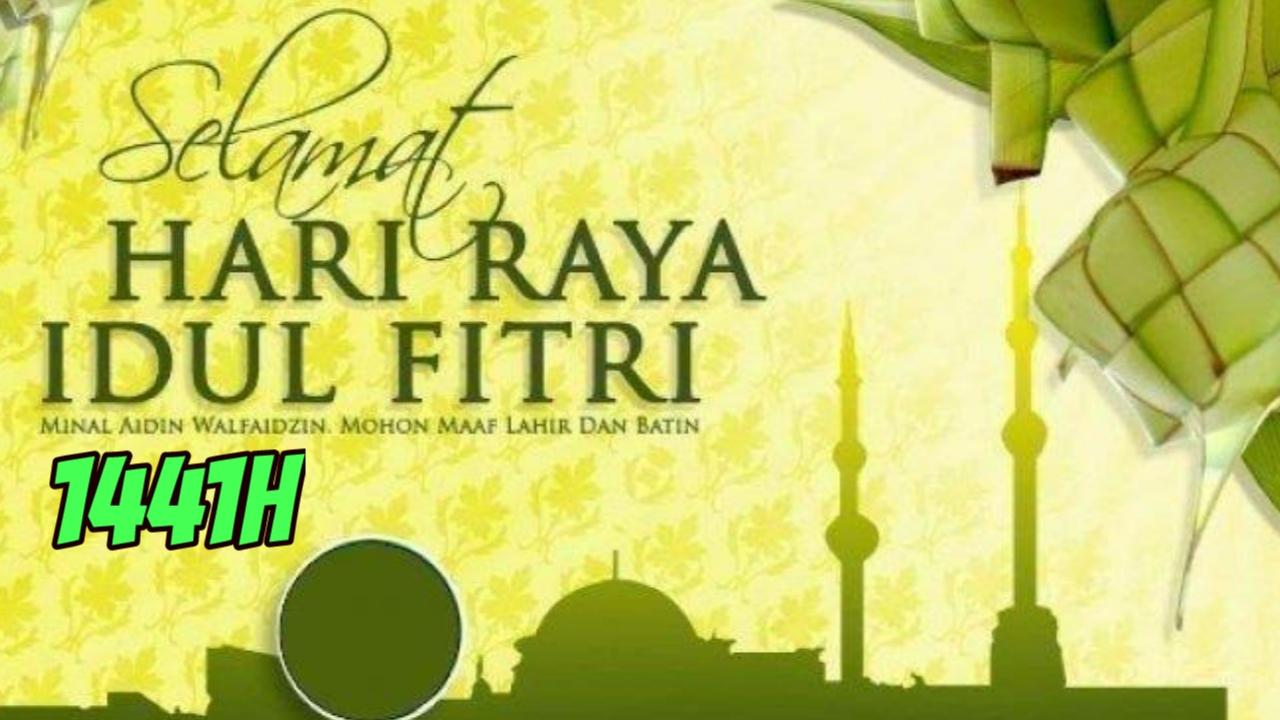 Kumpulan Kartu Ucapan Selamat Hari Raya Idul Fitri 1
