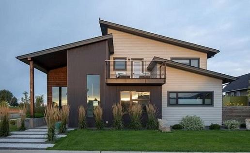 Rumah minimalis nuansa metal