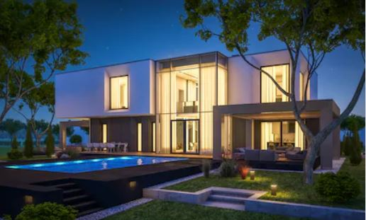 Rumah minimalis tropis