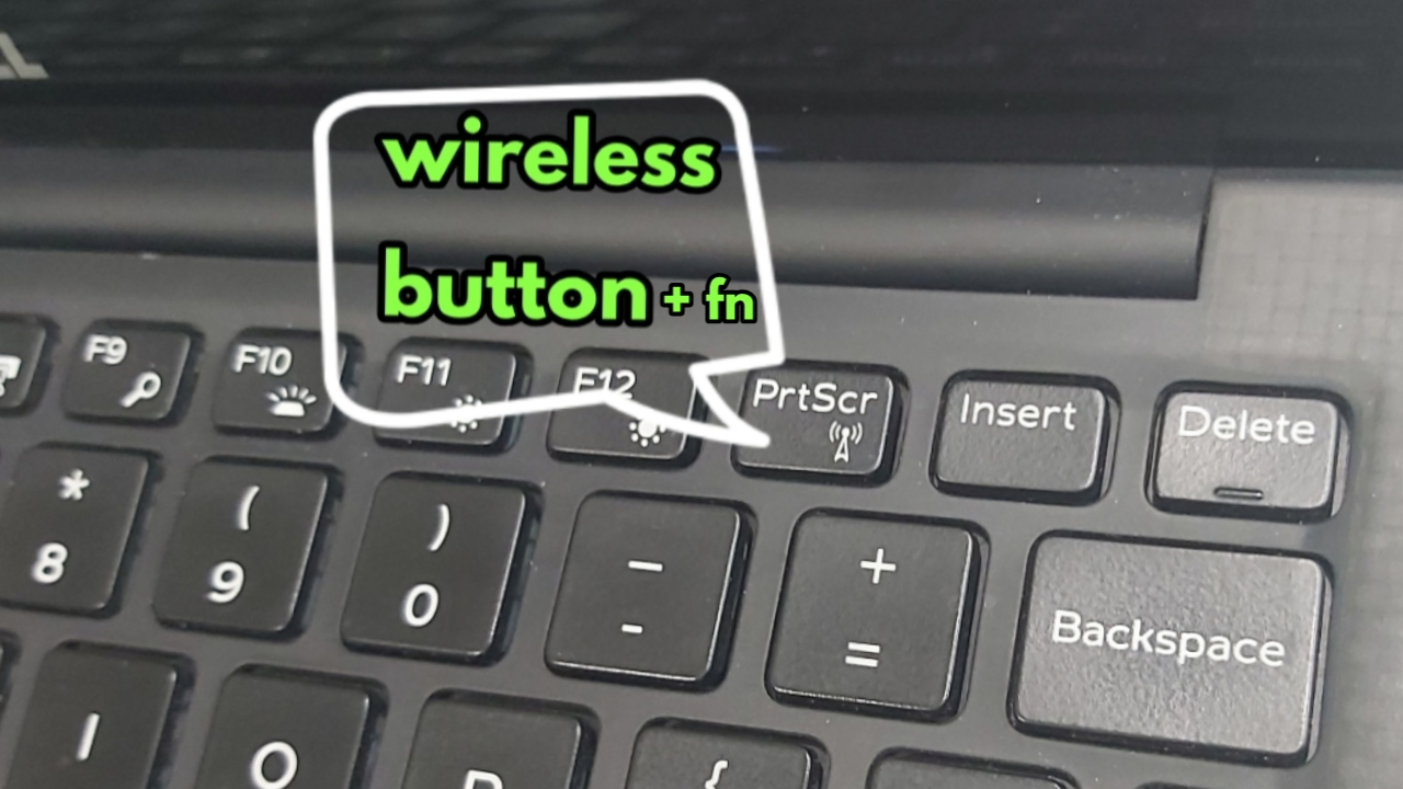 Wireless button Fn